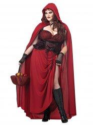 Déguisement Petit chaperon rouge gothique femme Halloween
