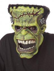 Masque articulé monstre vert ani-motion™ adulte