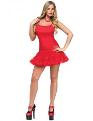Robe danseuse rouge