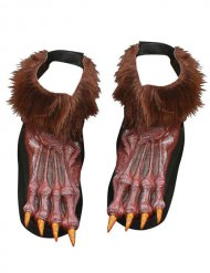 Surchaussures déguisement loup-garou