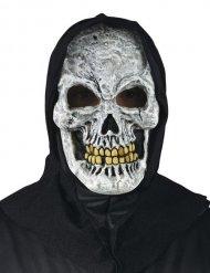 Masque squelette avec capuche Halloween