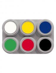 Palette de maquillage 6 couleurs 15 ml