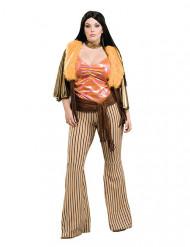 Déguisement femme hippie années 60/70 grande taille
