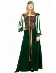 Déguisement damoiselle médiévale femme