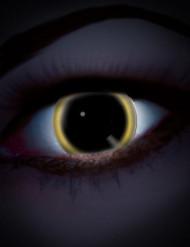 Lentilles fantaisie UV éclipse adulte