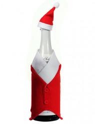 Décoration Noël pour bouteille 24cm