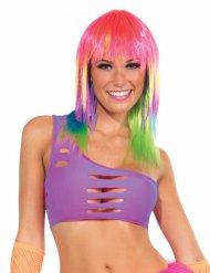 Brassière soutien-gorge violet femme disco
