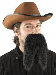 Moustache noire géante mexicain adulte