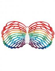 Lunettes papillon multicolore