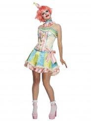 Déguisement clown pastel vintage femme