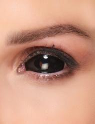 Lentilles fantaisie sclera oeil noir adulte