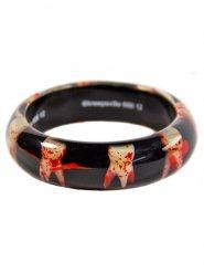 Gros bracelet rigide gothique