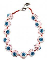 Collier Kreepsville chaîne yeux arrachés