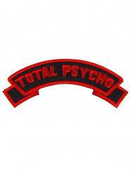 Patch rouge Total Psycho