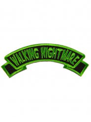 Patch Walking Nightmare vert et noir