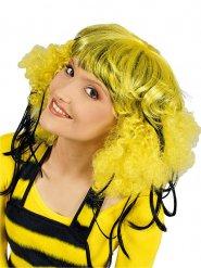 Perruque afro abeille femme