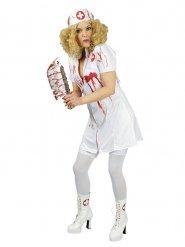 Déguisement infirmière ensanglantée femme Halloween