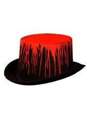 Chapeau haut de forme sanglant