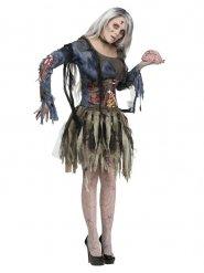 Déguisement de femme zombie pour Halloween