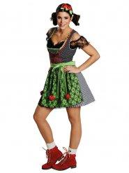 Déguisement robe traditionnelle Dirndl femme