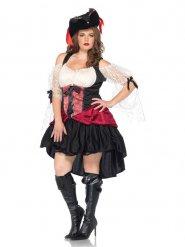 Déguisement pirate baroque sexy femme