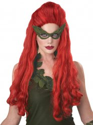 Perruque femme cheveux longs rouges
