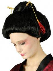 Perruque noire geisha femme