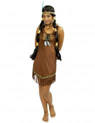 Déguisement indienne de la prairie femme