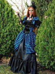 Déguisement vampire victorien gothique femme