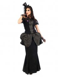 Déguisement femme gothique victorienne
