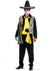 Déguisement mexicain Dia de los muertos homme