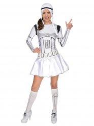 Déguisement robe Stormtrooper Stars Wars™ femme