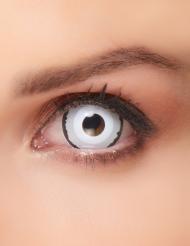 Lentilles de contact Venus blanc-noir Sclera