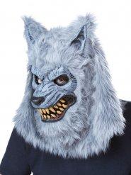 Masque loup-garou gris