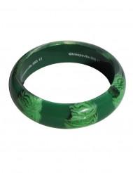 Bracelet cerveau zombie vert adulte