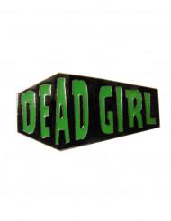 Bague deux doigts cercueil Dead Girl
