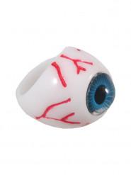 Bague oeil bleu adulte