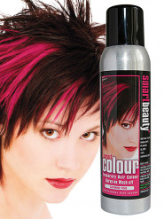 Spray cheveux lavable rose