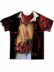 T-shirt zombie adulte