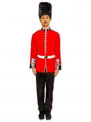 Déguisement homme garde royale rouge et noir