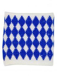 Oktoberfest Sweatband Bavaria blue-white 8x7cm