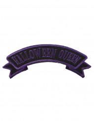 Pièce pour vêtement violet et noir Halloween Queen