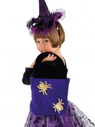 Sac araignée violet enfant