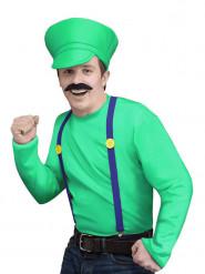 Déguisement personnage jeux vidéo vert homme