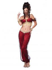 Sexy Genie Ladies Costume Orient red-gold
