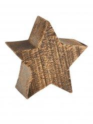 Décoration Noel étoile en bois