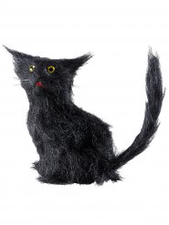 Chat noir 12 cm Halloween