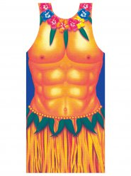 Hawaii Apron Hula Boy multicoloured