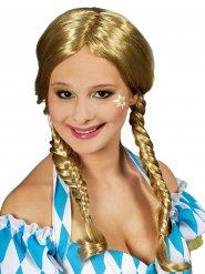 Perruque tresses blonde épi femme