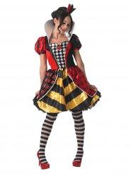 Déguisement Reine de coeur Alice au pays des merveilles™ femme